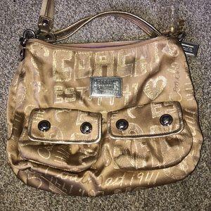 Poppy coach purse